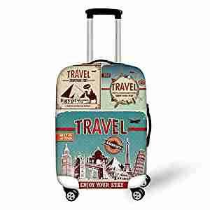copri valigia e trolley