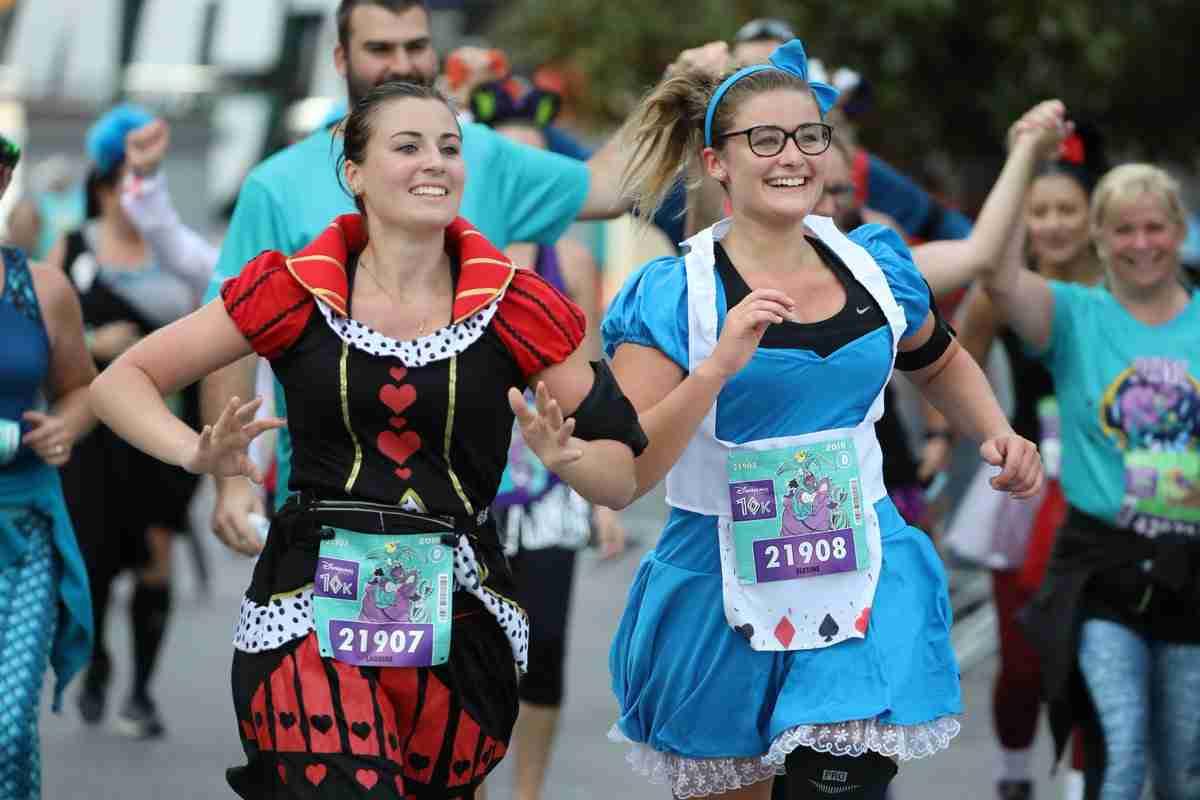 Run Disney France Gara divertente