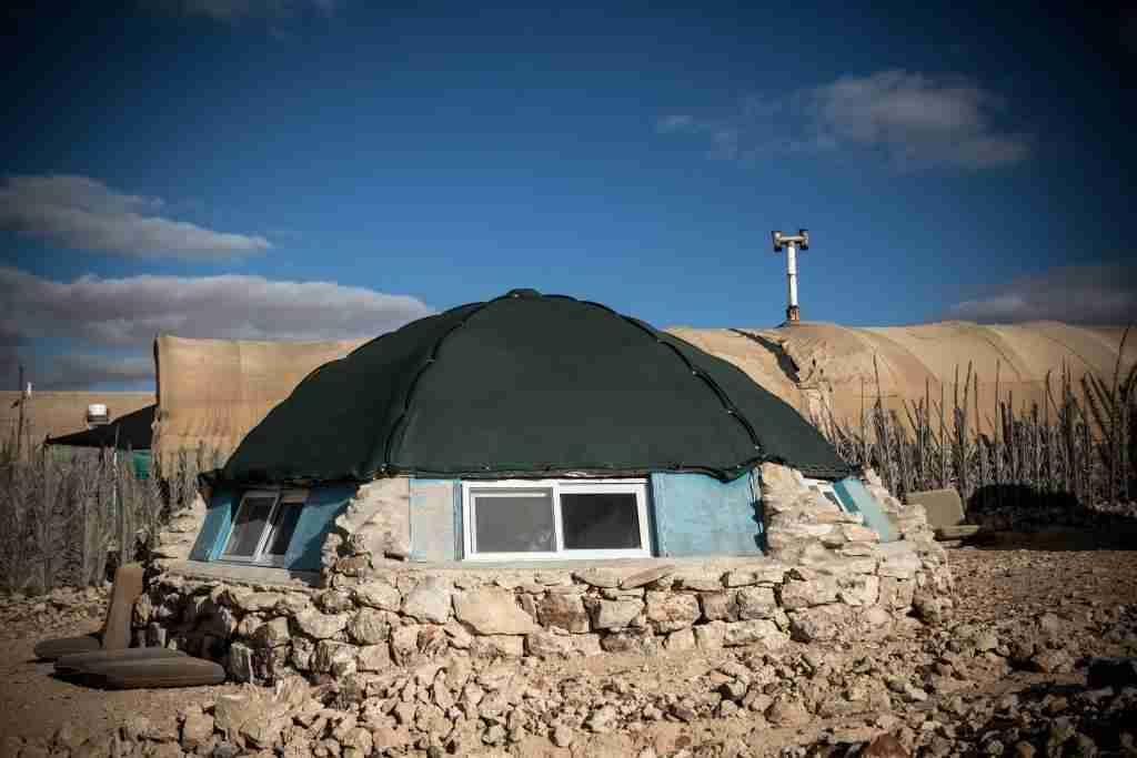 Silent Arrow Campo Tendato Israele