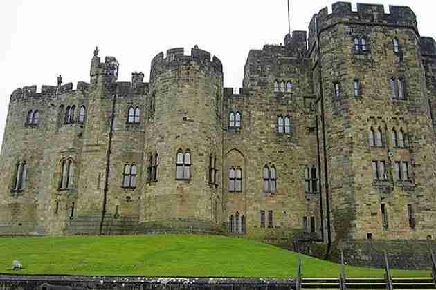 Alnwick Castle Harry Potter