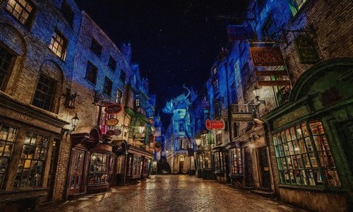 Location Harry Potter Tour