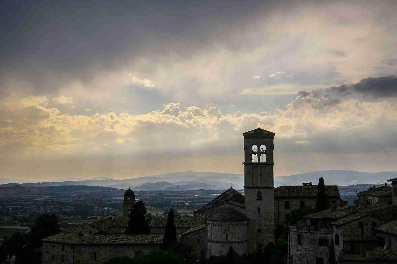 Assisi Spoleto pista ciclabile