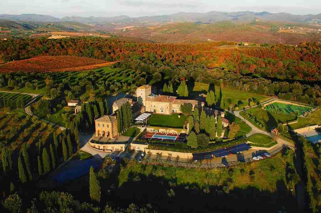 Hotel di campagna Chianti Toscana