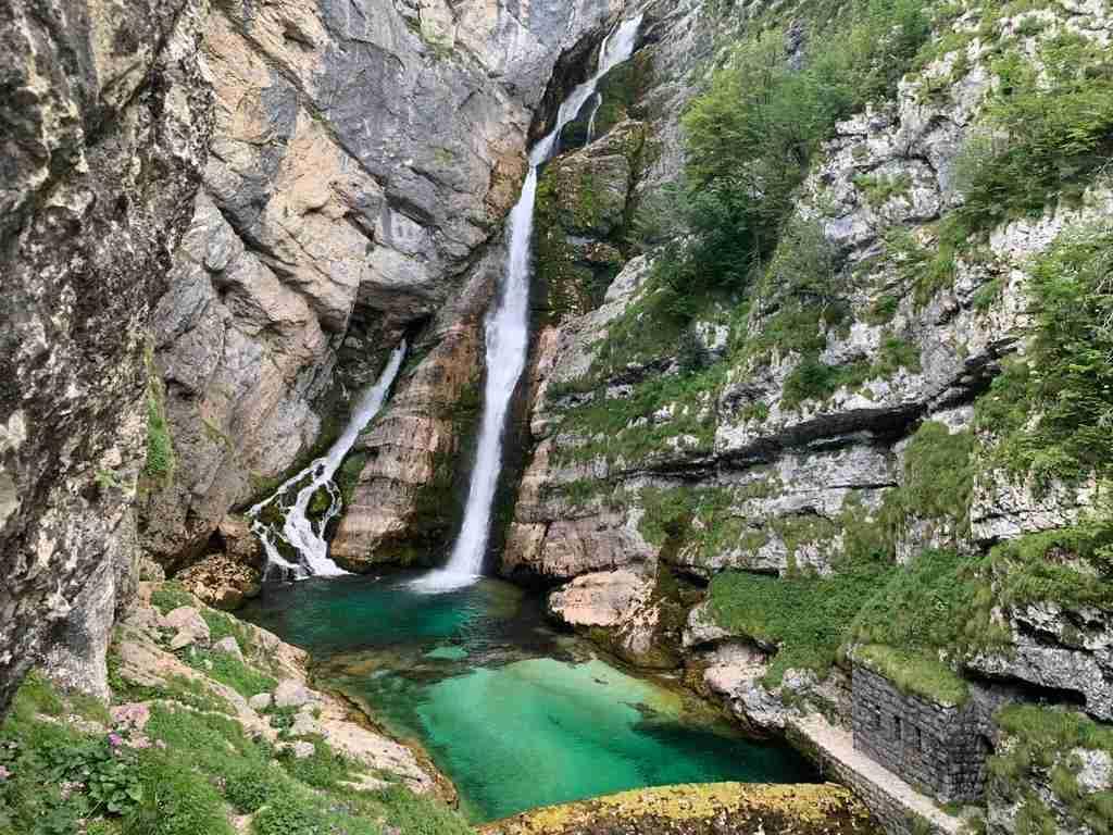 Cascata Savica - Slovenia da vedere