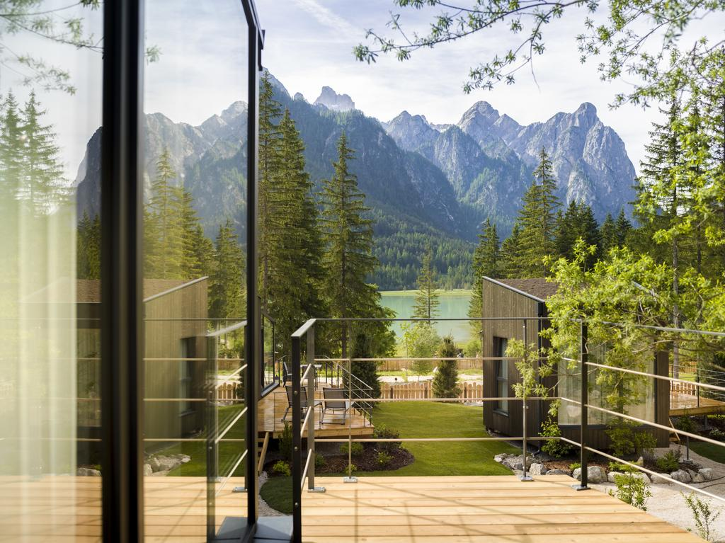 Glass Cube Skyview Chalet Val Pusteria
