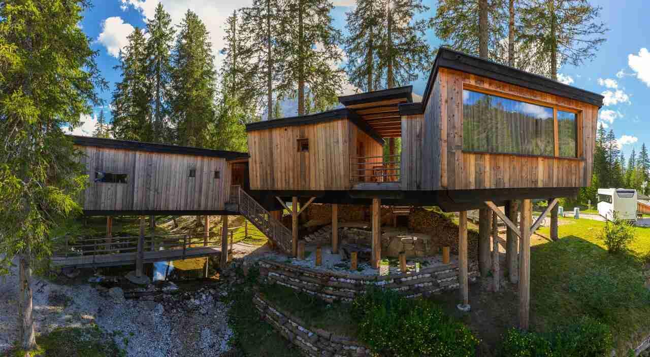 Casa sugli alberi Trentino Alto Adige